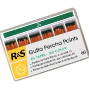 ISO spalvu teiperine Gutta percha-2